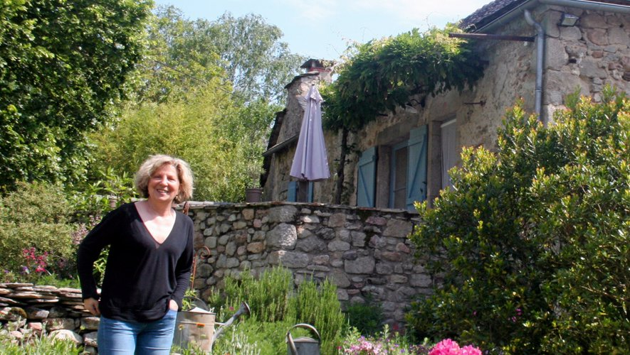Marie-Hélène Couffin accueille ses hôtes dans son havre de paix depuis 2012.