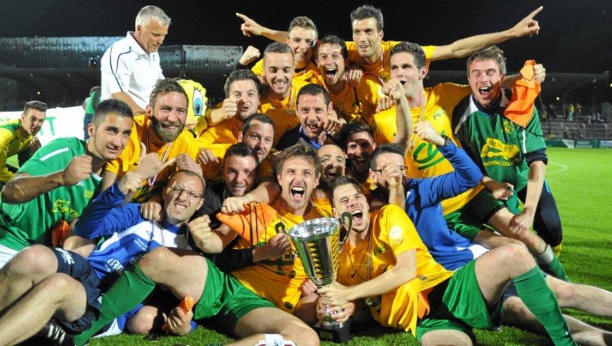 Les Luco-Primaubois  remportent la Coupe de l'Aveyron (2-1) face à Pays Alzuréen.