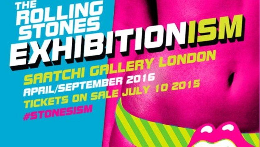 The Rolling Stones inaugurent leur big expo à Londres