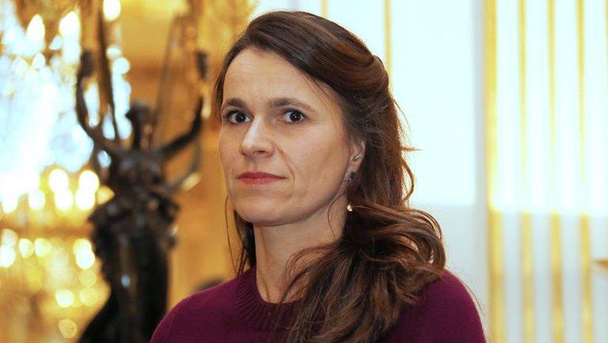 La ministre de la Culture Aurélie Filippetti, le 27 février 2014 à Paris