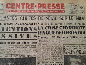 Quel temps faisait-il en Aveyron le 9 mars 1964 ?