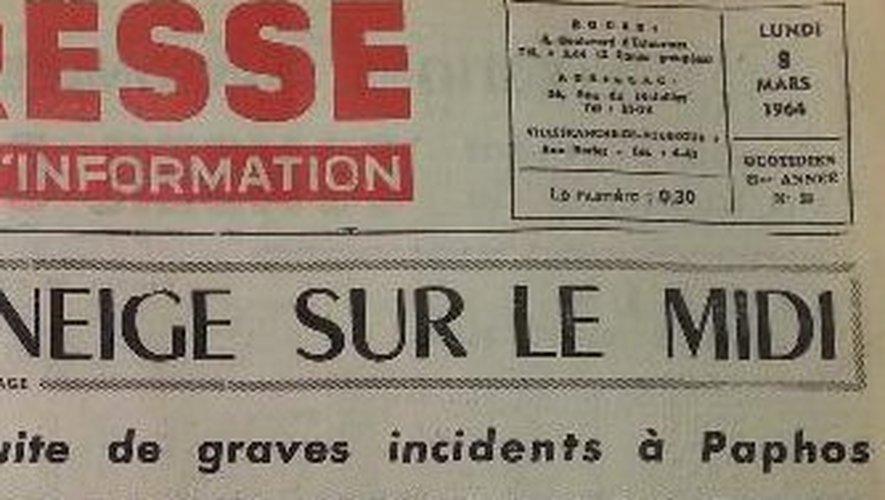 Un zoom de la couverture du 9 mars 1964 pour les plus sceptiques.