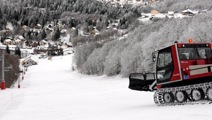 Ski grand format à Laguiole et Brameloup