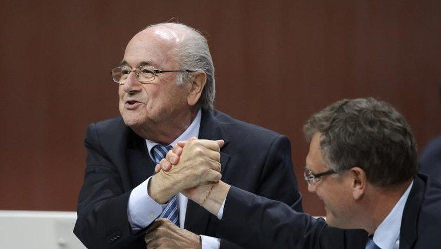 Le président de la Fifa Sepp Blatter, le 29 mai à Zurich