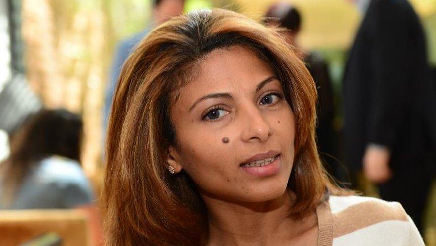 Ensaf Haidar, l'épouse du blogueur saoudien emprisonné Raef Badaoui, le 21 mai 2015 à Berlin
