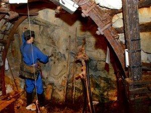 Alès Un voyage au fond de la mine témoin