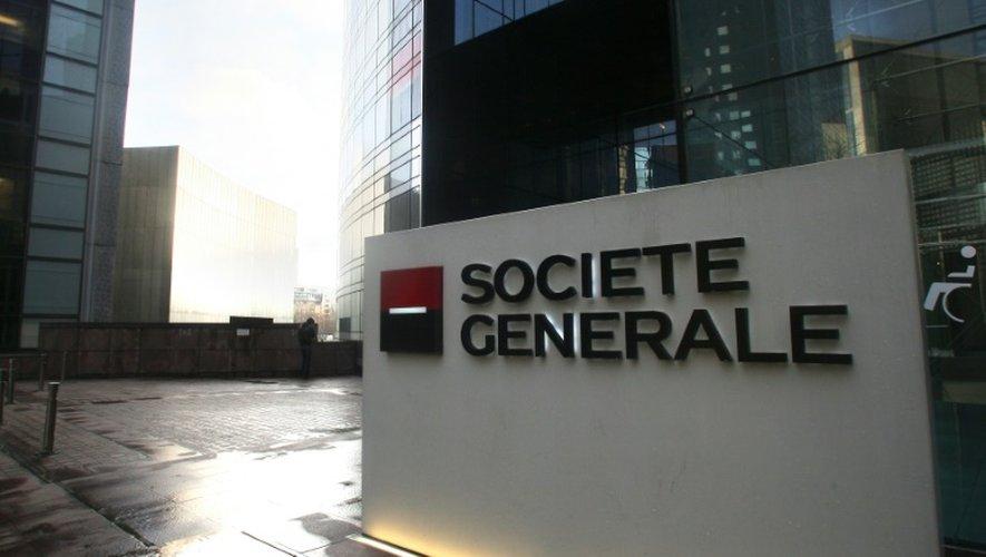 Le siège de la Société Générale dans le qartier de la Défense à Puteaux