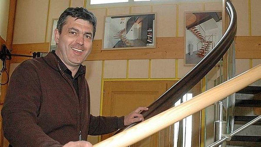 L'entreprise produit quelque 250 escaliers sur-mesure par an.
