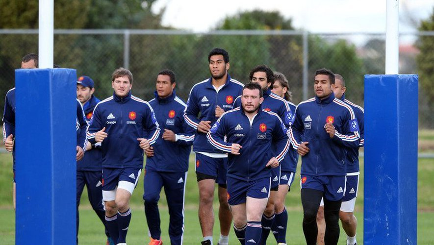 Rugby: XV de France, des places à prendre face aux Blues d'Auckland