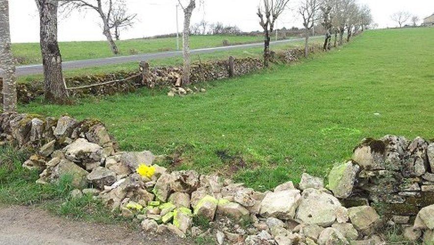 L'accident s'est produit sur la  la route reliant Bozouls à Saint-Julien de Rodelle.