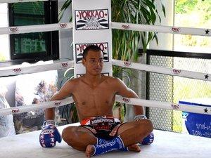 Gala de boxe thaï à Rodez : une ceinture européenne en jeu
