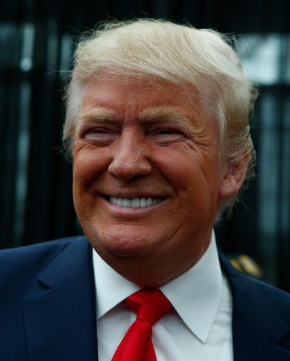 Le candidat républicain à la Maison Blanche, Donald Trump, le 17 avril 2016 à Staten Island à New York, aux Etats-Unis