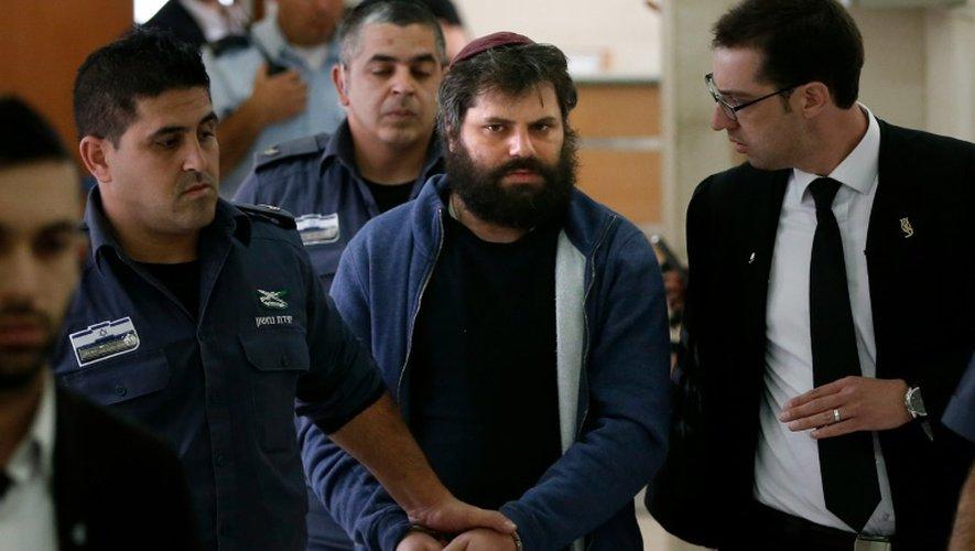 Palestinien brûlé vif en 2014: le principal accusé israélien jugé sain d'esprit