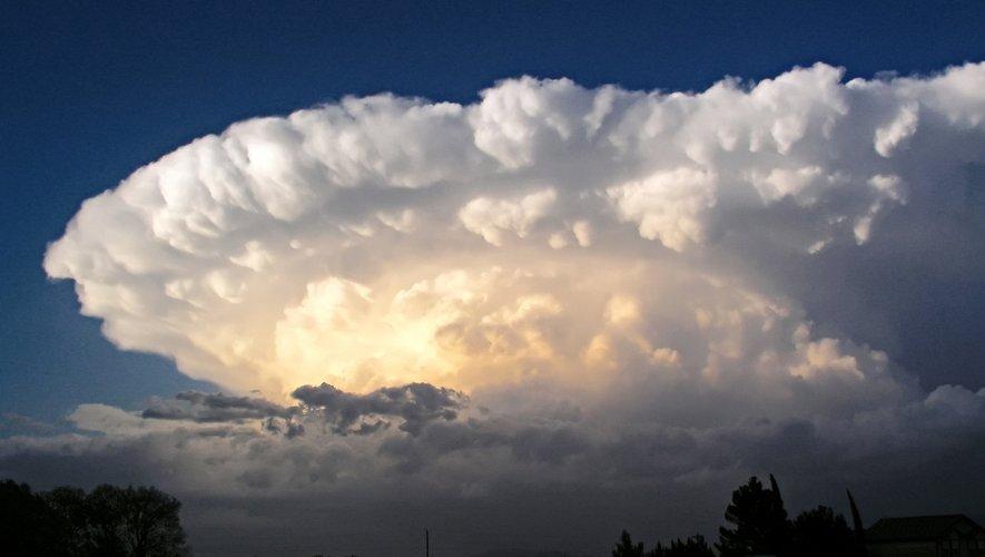 Risque d'orages violents en Aveyron