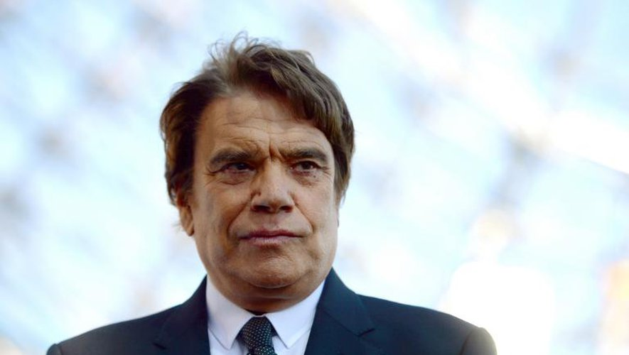Bernard Tapie, le 26 mai 2013 à Marseille