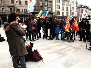 Carte scolaire : les profs manifestent à Rodez