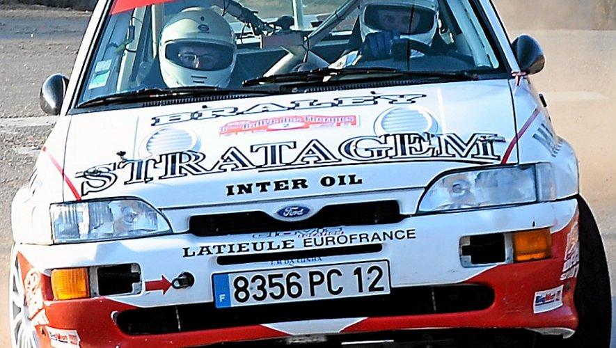 Rallye du Quercy : violente sortie de route pour l'équipage Da Cunha
