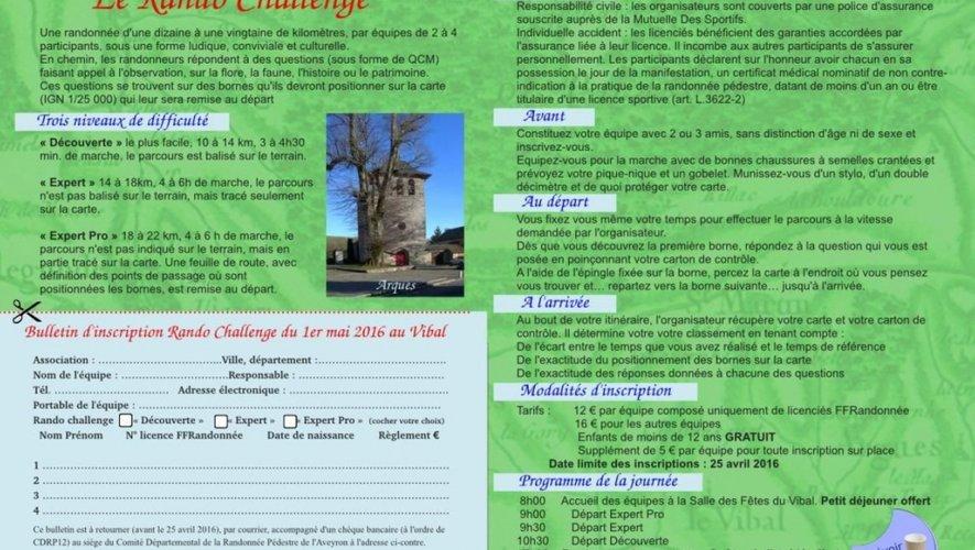 Course d'orientation : le 10e Rando Challenge se prépare au Vibal