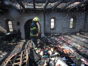 Israël: 16 colons interpellés après l'incendie d'un sanctiaire chrétien