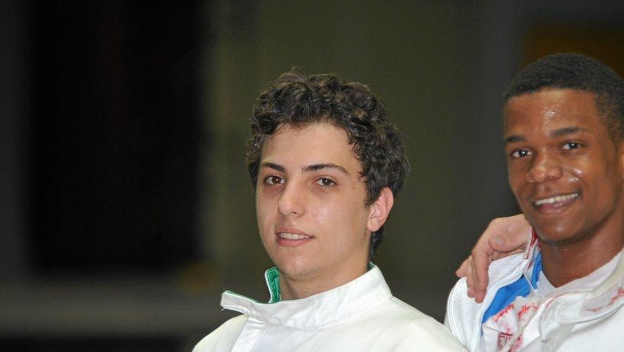 L'escrimeur ruthénois Karim El Haouari avait terminé 26e lors des Jeux Olympiques de Londres.