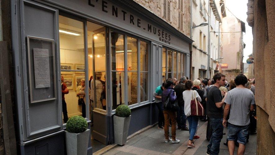 Rue Sainte-Catherine, la galerie a trouvé sa place.