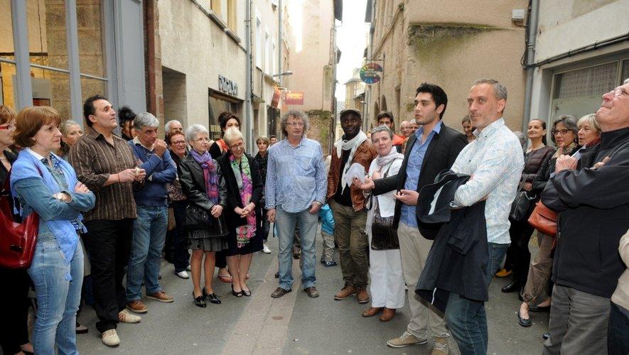 Ici aux côtés de Jean-Louis Roussel, Eliott Privat a reçu le soutien des Ruthénois.