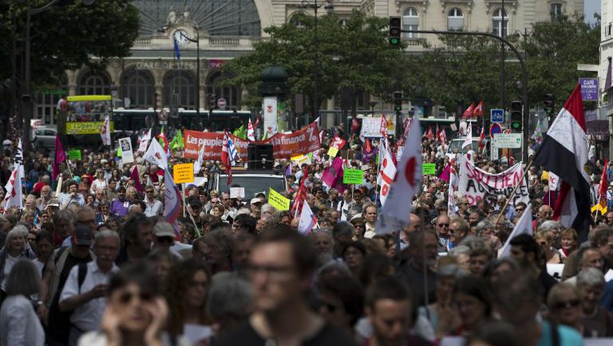 Manifestations à Berlin, Rome et Paris pour les migrants et la Grèce