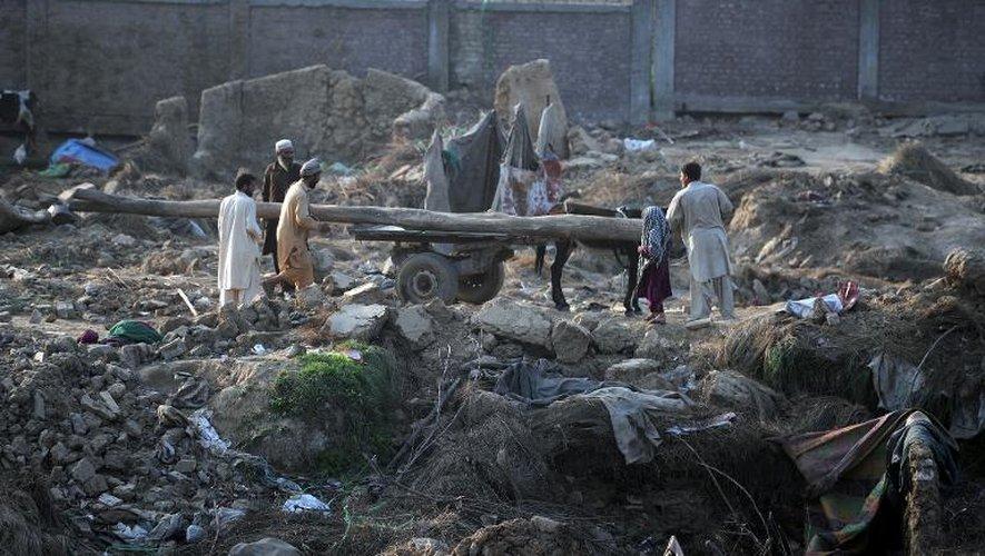 A Islamabad, les autorités en guerre contre les bidonvilles