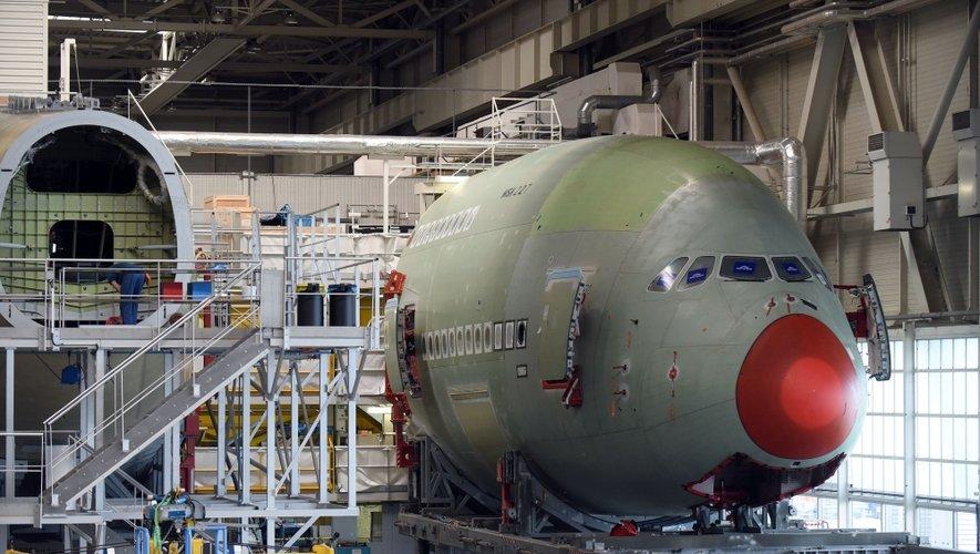 Airbus A380 : sa construction, étape par étape