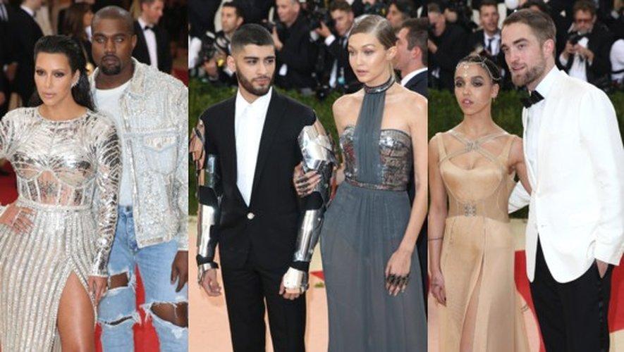 Met Gala 2016 en couple : Kim et Kanye, Gigi et Zayn, Fka Twigs et Robert…
