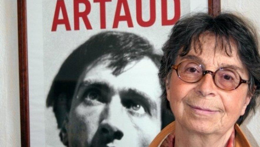 Mireille Larrouy, présidente de l'association Antoin Artaud espère beaucoup de l'ouverture prochaine du musée Soulages.