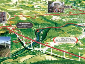 Millau : Michel Bras, Thomas Hughes et 15 000 coureurs au départ du Viaduc
