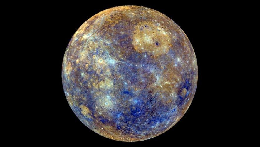 Photo de Mercure obtenue de la Nasa le 21 février 2013