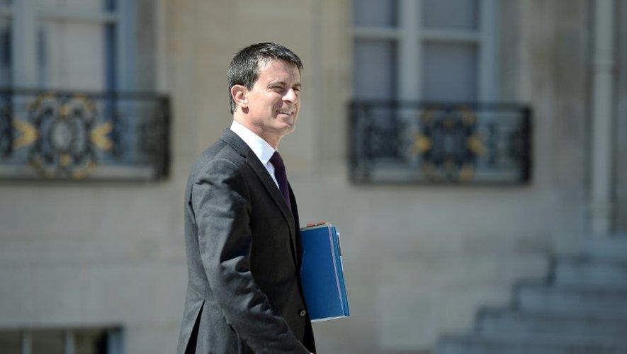 Le Premier ministre Manuel Valls à Paris le 4 mai 2016