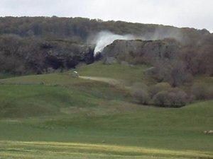 La cascade du Déroc comme vous ne l'avez jamais vue !
