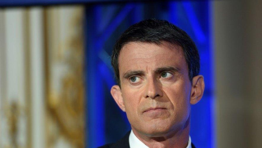 Le Premier ministre Manuel Valls le 9 mai 2016 à Paris