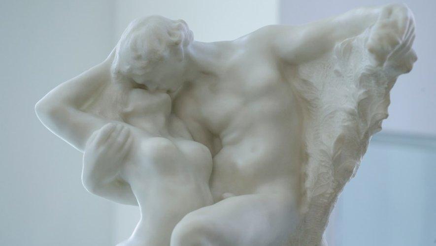 """""""L'Eternel Printemps"""", une sculpture en marbre de Rodin, a été vendue lundi soir à New York pour plus de 20 millions de dollars, un record pour l'artiste"""