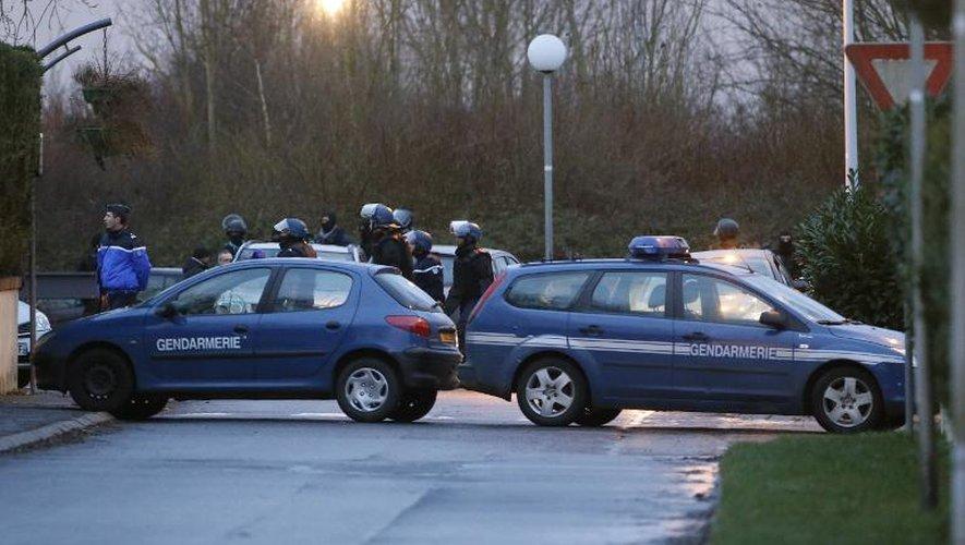 Des gendarmes français en opération