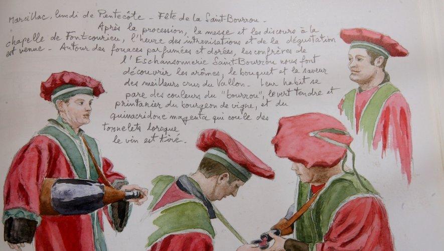 Fête de la Saint-Bourrou de Marcillac.