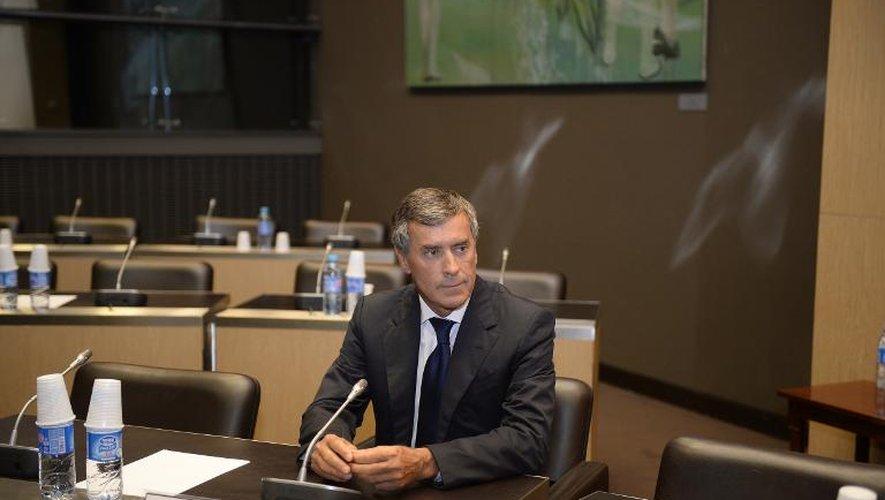 """Cahuzac n'a """"aucun souvenir"""" d'une réunion avec Hollande"""