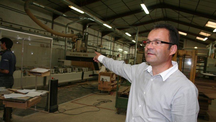 Le directeur de la société Cayron Ameublement Bertrand Nauleau.