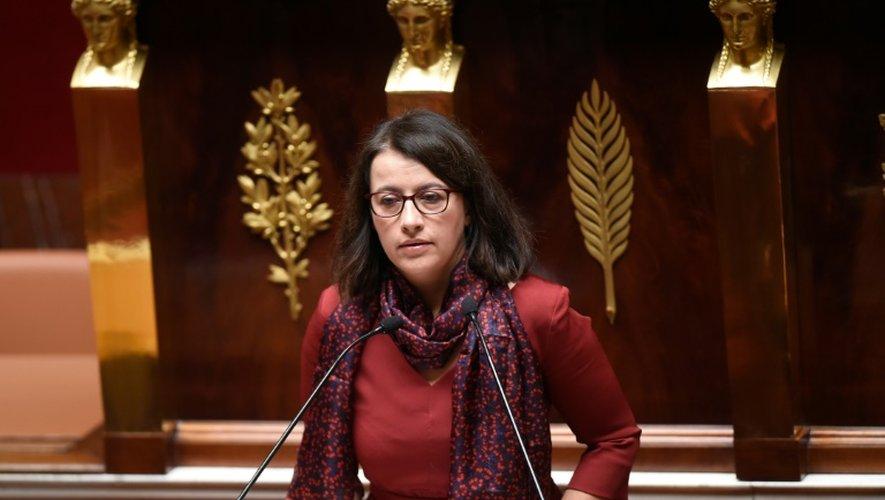 Cécile Duflot à l'Assemblée nationale le 5 février 2015