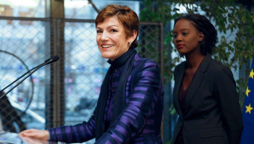 Chantal Jouanno et Rama Yade à Paris le 15 novembre 2010
