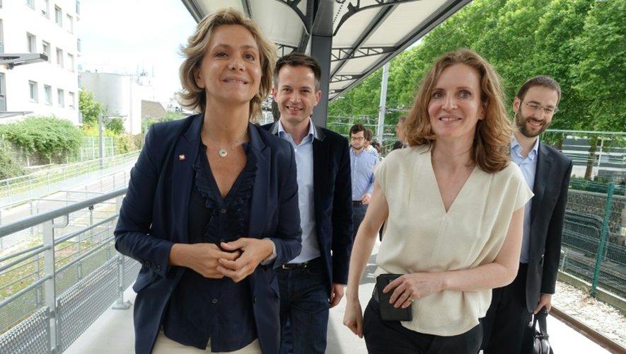 Valérie Pécresse et Nathalie Kosciusko-Morizet  à Paris le 12 juin 2015