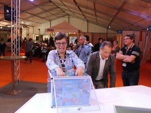 FoirExpo de Rodez: les élus à l'honneur, le Raf à l'animation