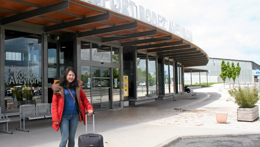 Gahee Park, devant l'aéroport de Rodez.
