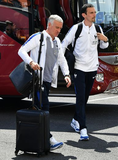 Didier Deschamps, sélectionneur de l'équipe de France, le 17 mai 2016 à Biarritz