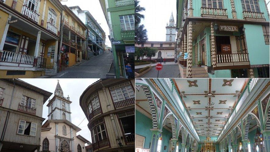 Loja, une des villes les plus ancienne de l'Equateur, située à 2100 mètres d'altitude.