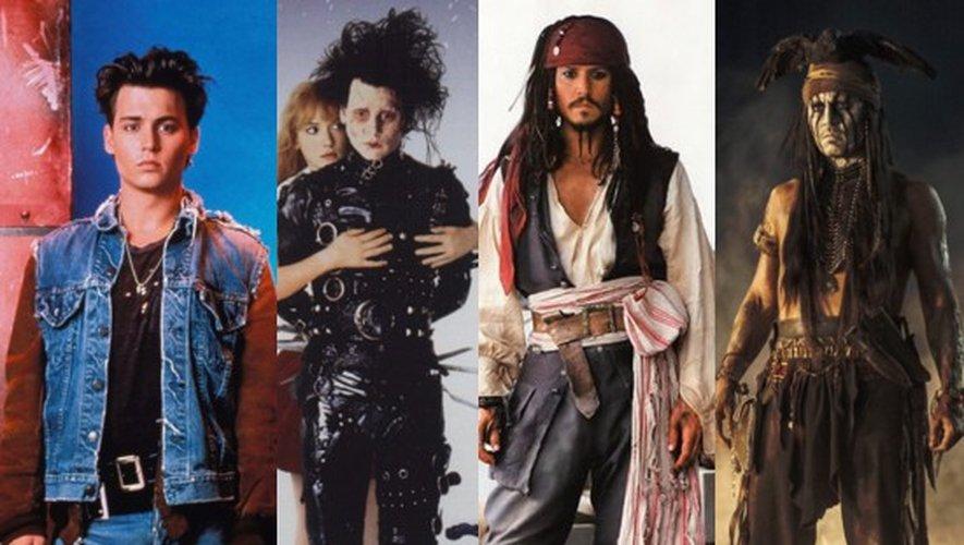 Johnny Depp, la retraite à 50 ans ? - PHOTOS de sa carrière et VIDEO de son interview