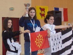 Clémentine Pinier s'offre une première victoire à l'échelon hexagonal